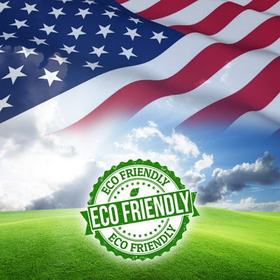 100% American Made & Eco Friendly