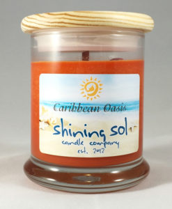 Coastal Collection - Caribbean Oasis - Medium Jar