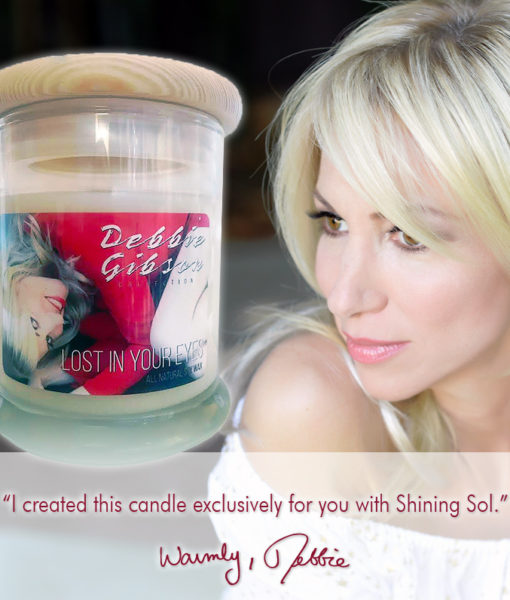 Debbie Gibson Lost In Your Eyes Candle