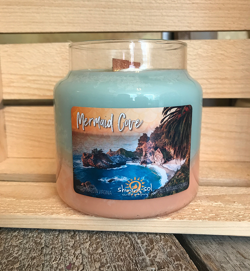 Mermaid Cove - Large Jar