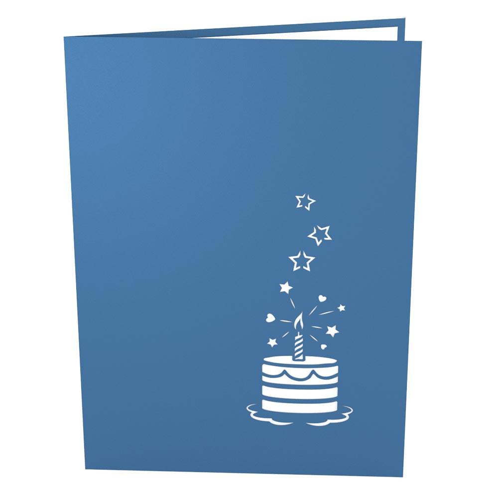 Birthday Cake Greeting Card